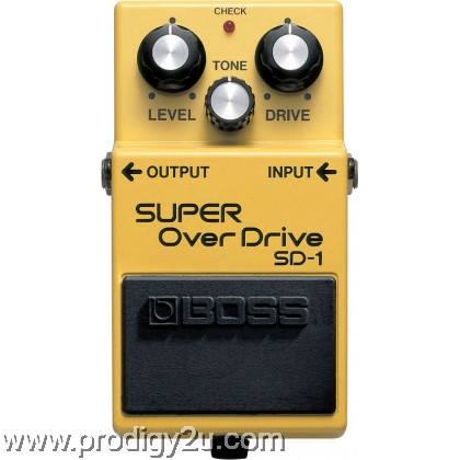 BOSS SD-1 Super Overdrive Electric Guitar Effects Stompbox