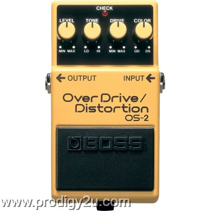 BOSS OS-2 Overdrive/Distortion Electric Guitar Effects Stompbox