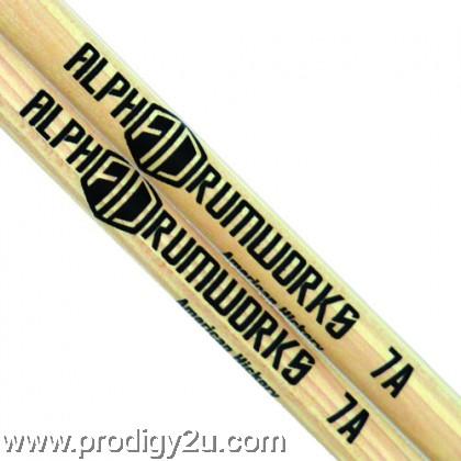 ALPHA DRUMWORKS AD-DS-PJ AMERICAN HICKORY DRUMSTICK PAIR