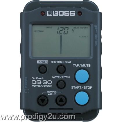 BOSS DB30 DR BEAT METRONOME BLACK