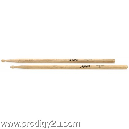ON-STAGE HW5A 5A HICKORY WOOD DRUMSTICK WOOD TIP