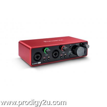 Focusrite Scarlette 2i2 (3rd Generation) Audio Interface