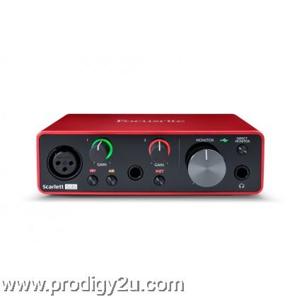 Focusrite Scarlette Solo (3rd Generation) Audio Interface