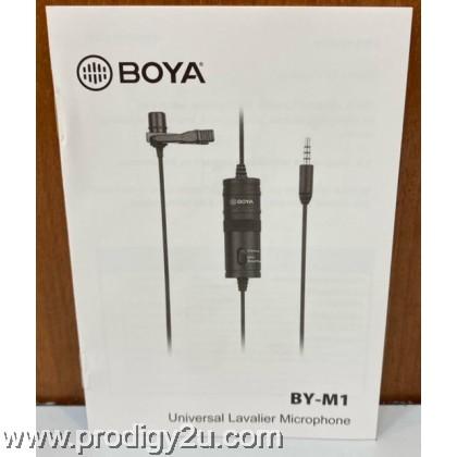 Boya BY-M1 Lavalier Clip Microphone