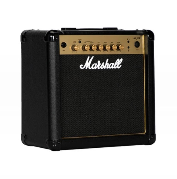 Marshall MG15GR 15-watt Electric Guitar Combo Amplifier