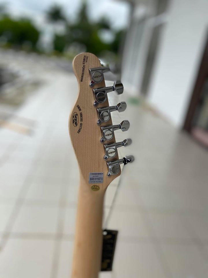 SQOE SETL300 TELECASTER WITH BAG